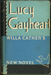 Cover of first edition of Lucy Gayheart