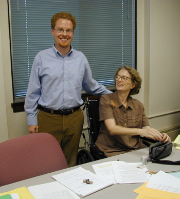 Image of Andrew Jewell and Susan Rosowski