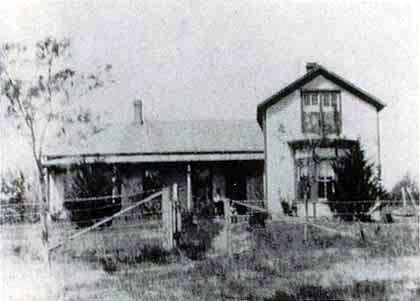 Photo of William Cather's house.