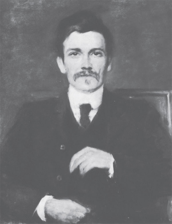 Portrait of John Millington Synge.
