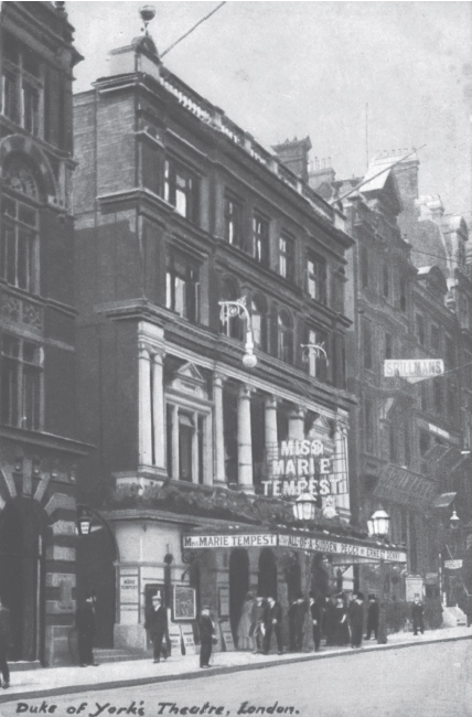 Picture of the Duke of York's Theatre.