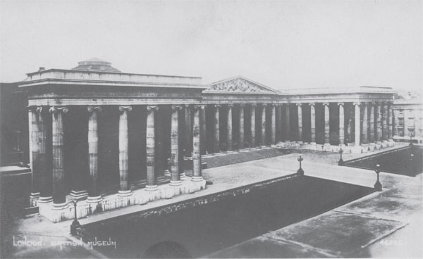 Postcard of the British Museum.