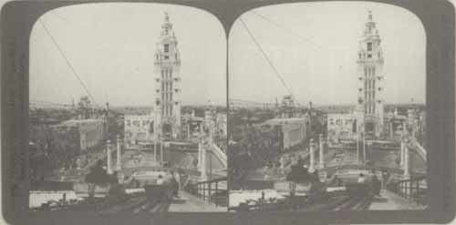Photo of Dreamland amusement park, Coney Island, New York.