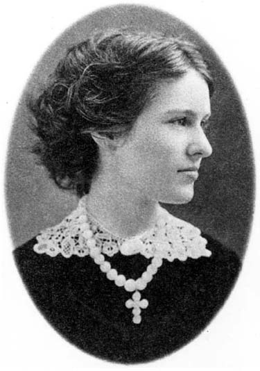 Photograph of Hattie McClure, circa 1871. Courtesy Lilly Library, Indiana University, Bloomington