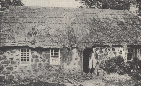 photograph of McClure's home in Ireland