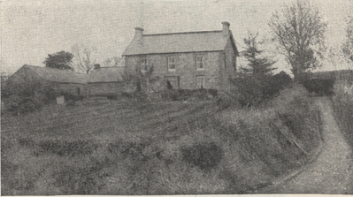 photograph of McClure's grandfather's house in Ireland