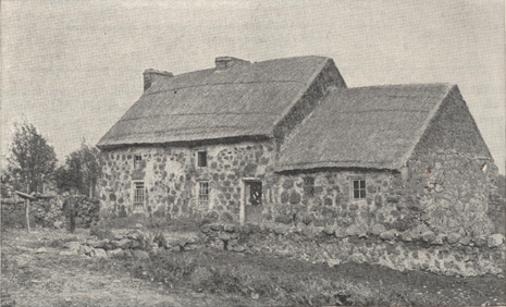 photograph of McClure's birthplace in Ireland