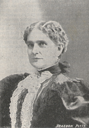 Photograph of Mrs. McKinley.