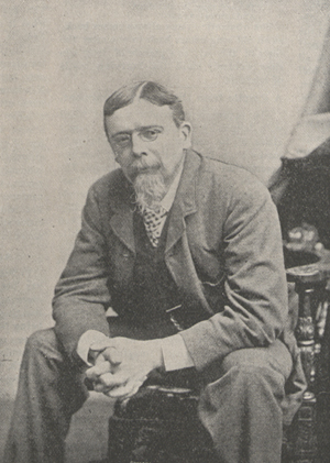 Photograph of George du Maurier.