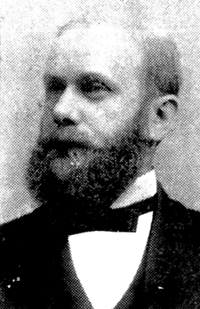 Photograph of Simeon Bissell.