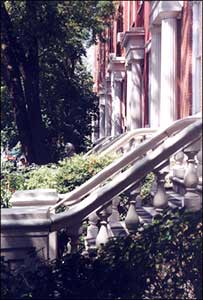 Image of Greek Revival houses on Washington Square North Photo by Isabella Caruso