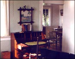 Image of Interior of Orchardside, Grand Manan. Photo by Sherrill Harbison.