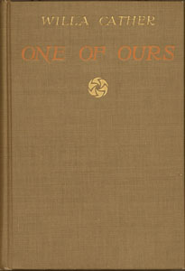 Cover of first edition of One of Ours