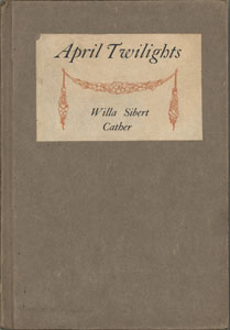 Cover of first edition of April Twilights