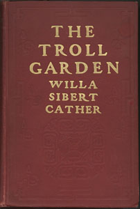 Cover of first edition of The Troll Garden