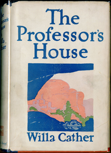 Cover of first edition of The Professor's House