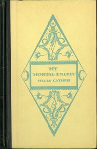 Cover of first edition of My Mortal Enemy