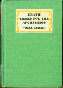 Cover of first edition of Death Comes for the Archbishop