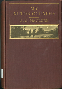 Cover of first edition of My Autobiography by S. S. McClure