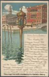 Image of postcard showing Hôtel Royal Danieli, Venice, Italy