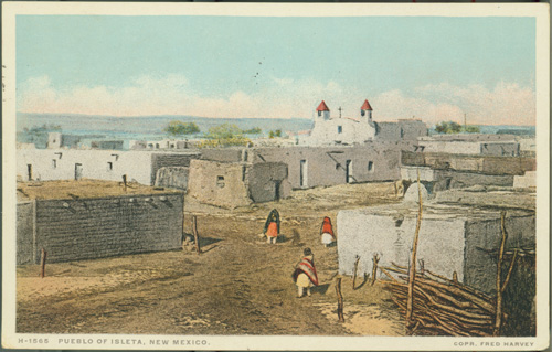 Postcard from the Pueblo of Isleta, New Mexico
